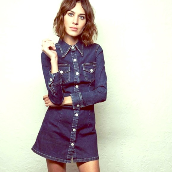 a680cfd22d Ag Adriano Goldschmied Dresses   Skirts - Alexa Chung For AG Lonestar Pixie  Shirt Dress Sz